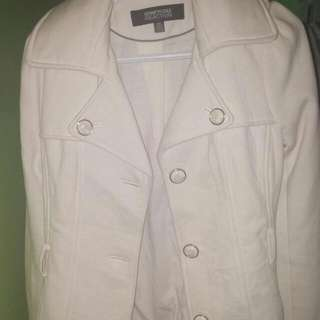 Kenneth Cole reaction Cream Coloured Jacket
