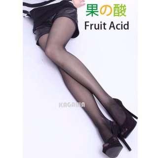 Taiwan Stockings/Pantyhose/Tights/ FRUIT ACID/ JUNE BATCH