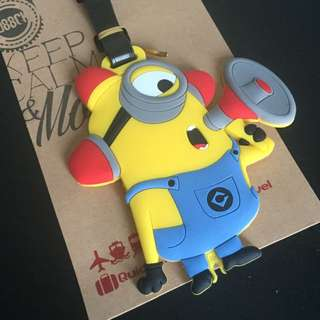 Calling All Minions Luggage Tag