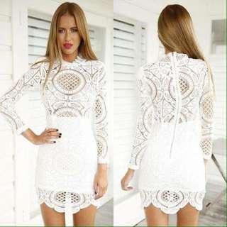 Whites Elegant Dressed