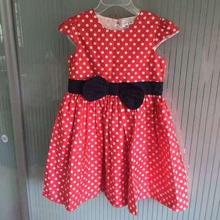 Red Poka Dot Dress