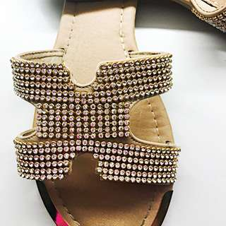 New Diamanté Sandal Migato