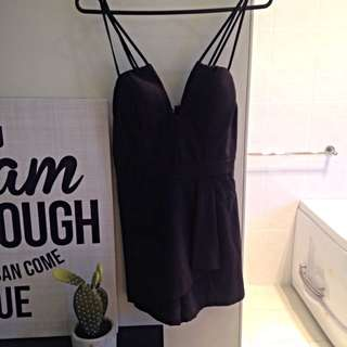 Valley girl Playsuit Size 8
