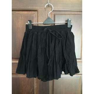 二手 棉麻 短褲裙