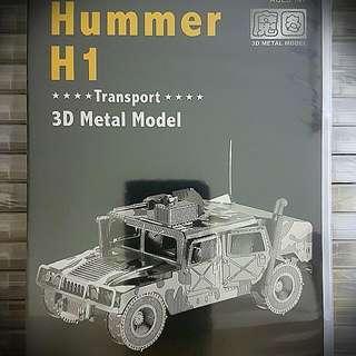 3d Metal Model-Hummer H1
