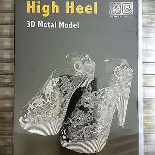 3d Metal Model-High Heel