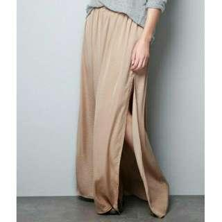 Zara High Slits Skirt Long Maxi