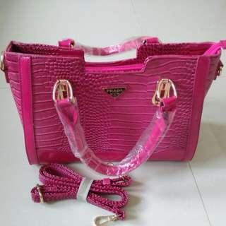 Croco Skin Bag