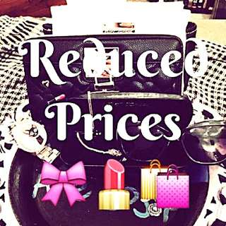Beauty Products Prices Reduced