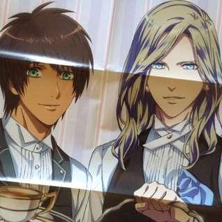 Double-Sided Uta No Prince-Sama / Kekkai Sensen Anime Poster