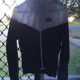 Black And White Nike Windproof