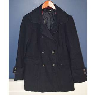 Warm Navy Blue Coat