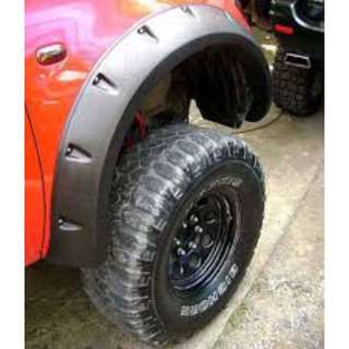 Mitsubishi Triton Bushwacker Over fender