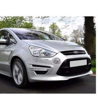 Ford S-Max 2012 up Front add on lip
