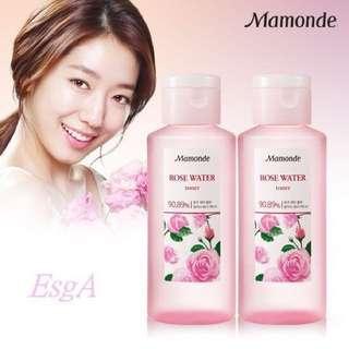 韓國✨mamonde玫瑰化妝水✨限時特價☺️到6/11呦✨✨