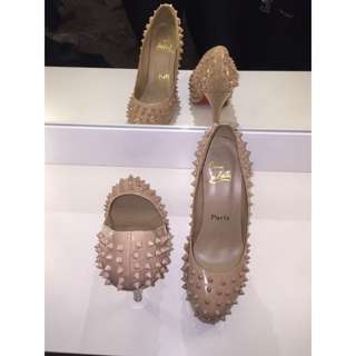 Christian Louboutin Spiked Nude