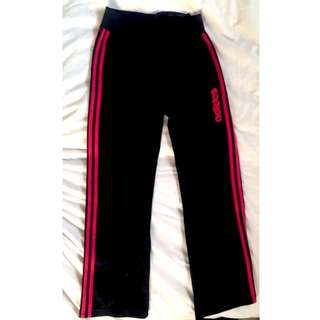 ADIDAS Track Pants: Size 8