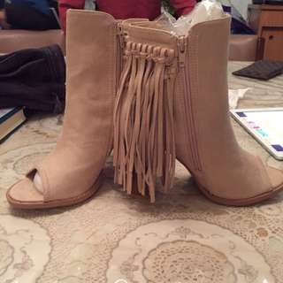 Suede Boots BNWT