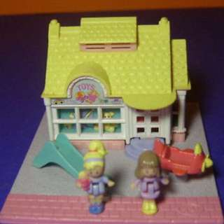 Polly Pocket 口袋芭比--玩具店