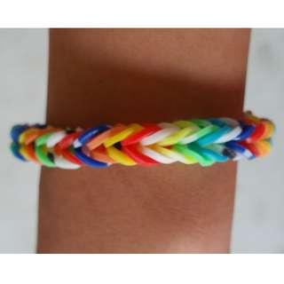 Item 111) Handmade Loom Band Bracelet