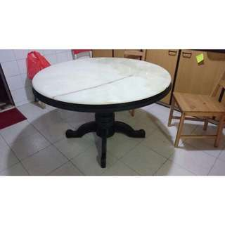 (URGENT CLEARANCE) Marble Dining Table