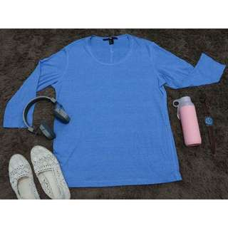 Full Of Blue [Preloved H&M/Atasan/Kaos]