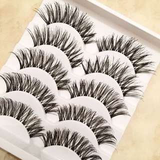 5 Pairs Demi Wispies Extra Long False Eyelashes/falsies