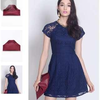 Brand New In Bag, Fayth - Jil Foldover Clutch