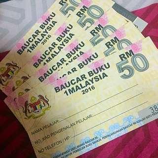 1Malaysia Book Vouchers - Baucar Buku 1Malaysia
