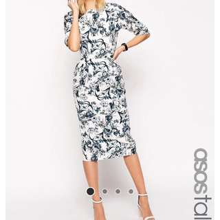 Size 12 ASOS Midi dress