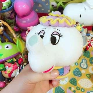 茶壺媽媽絨毛玩偶