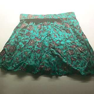 Valley Girl Mini Flowy Skirt