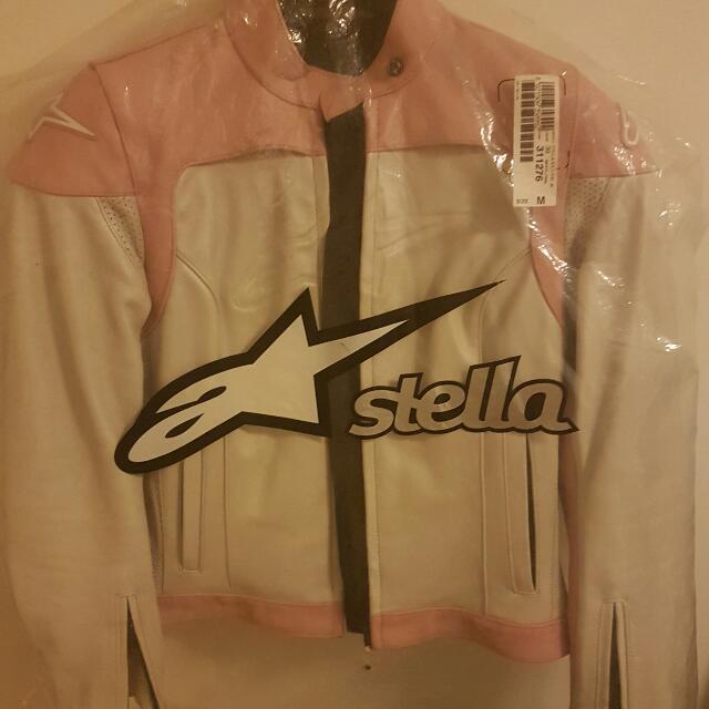 Alpinestars Women's genuine Leather Jacket Size Medium