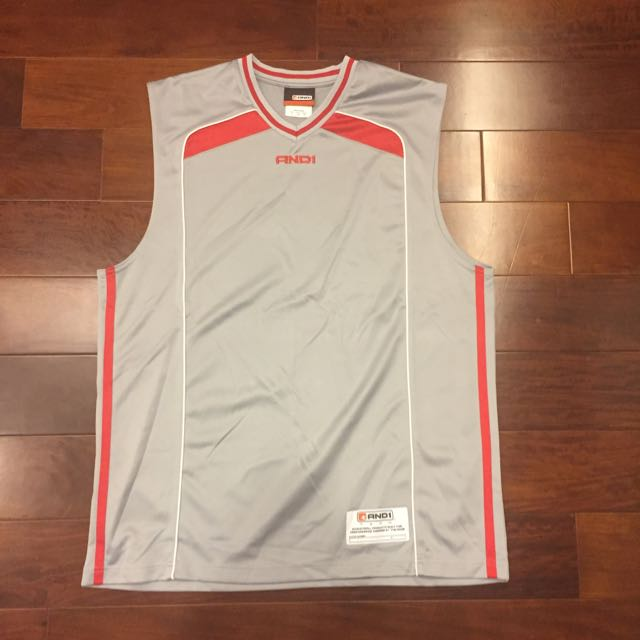 And 1 球衣 Jersey