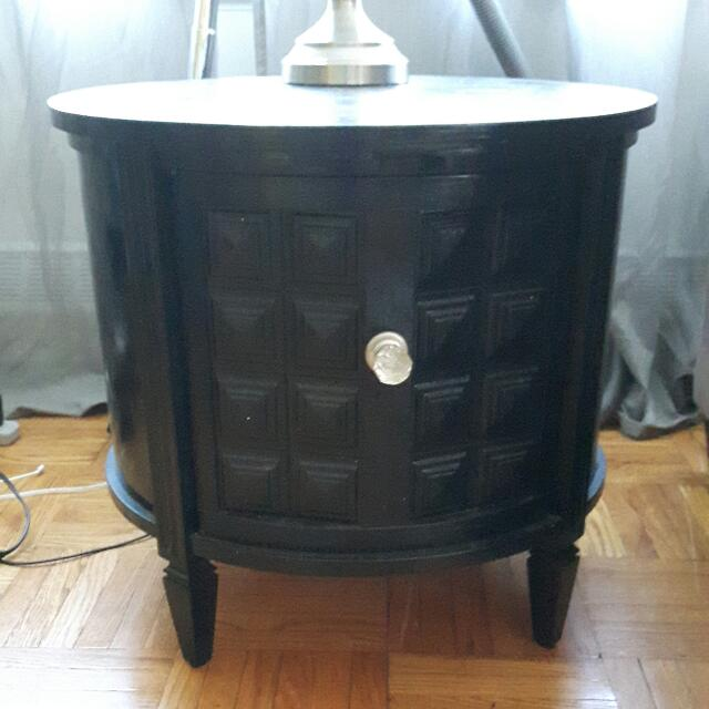 Antique Side Table Refinished