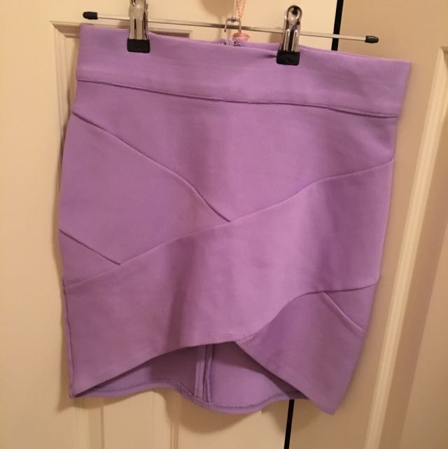 Bandage Skirt Lilac Or Black
