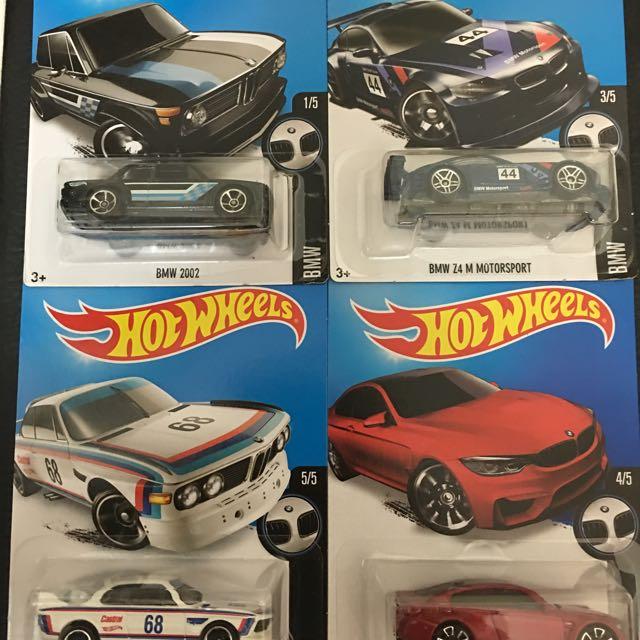 Hotwheels 風火輪 2016 BMW 系列 限量特賣中