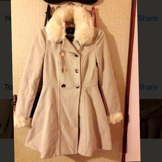 Lipsy Faux Fur Princess Coat