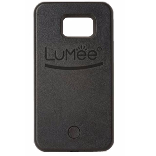 LUMEE Phone Case | SAMSUNG S6 BLACK | | Led Selfie!