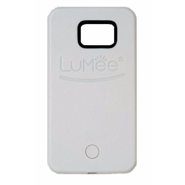LUMEE Phone Case | SAMSUNG S6 EDGE WHITE | | Led Selfie!