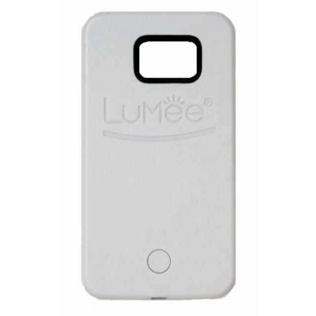 LUMEE Phone Case | SAMSUNG S6 WHITE | | Led Selfie!