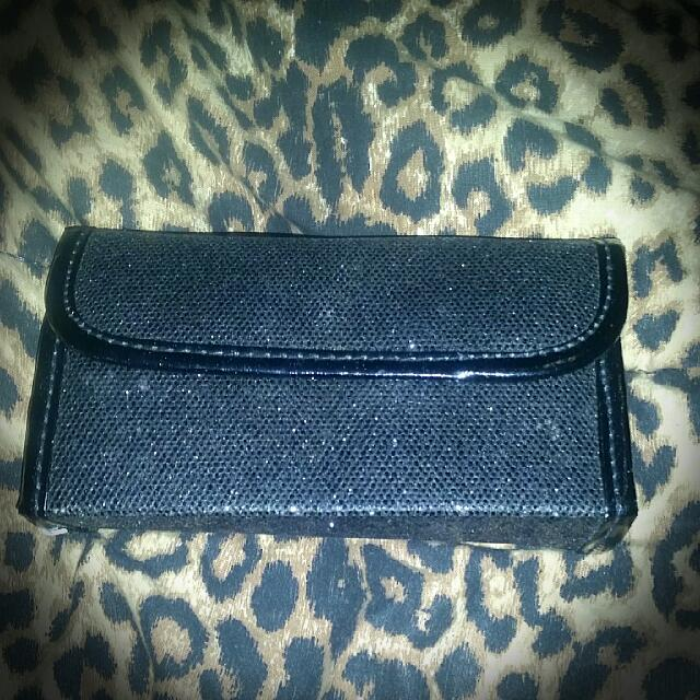 Makeup Clutch With Brushes, Pocket, Mirror