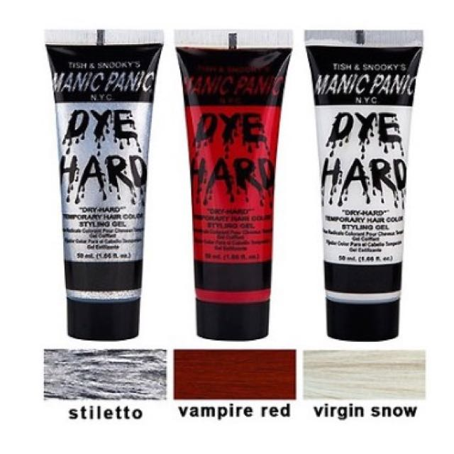 manic panic dye hard