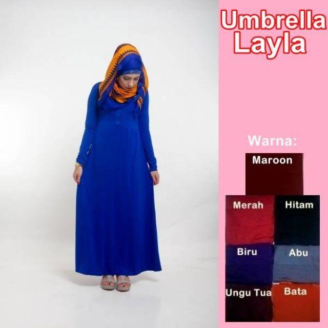MAXI DRESS UMBRELLA LAYLA GAMIS BUSUI MENYUSUI SPA, Women's Fashion, Women's Clothes, Dresses & Skirts on Carousell