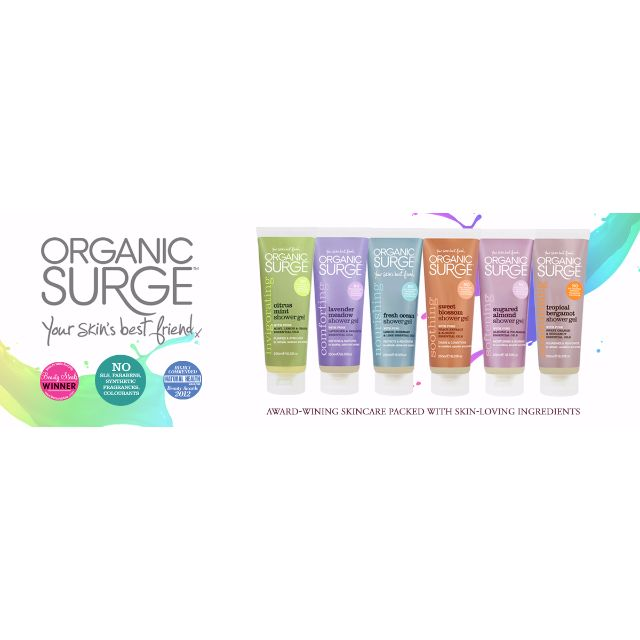 Organic Surge Shower Gel