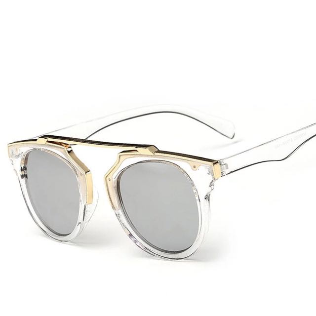 RFL SO REAL SILVER TRANSPARENT SUNGLASSES