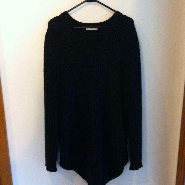 Rusty Black Tall Knit Jumper Size 10