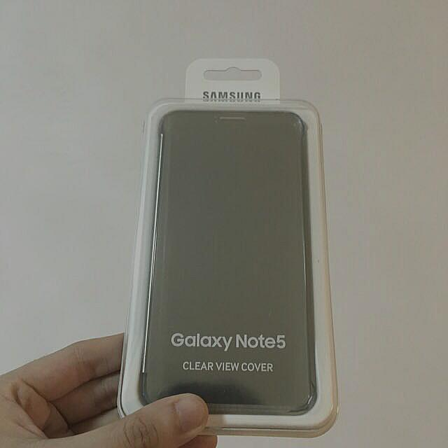 timeless design 469dc e5b9a Samsung Galaxy Note 5 Clear View Cover (Original)