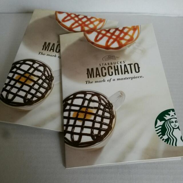 Starbucks Limited Edition Macchiato Fridge Magnets