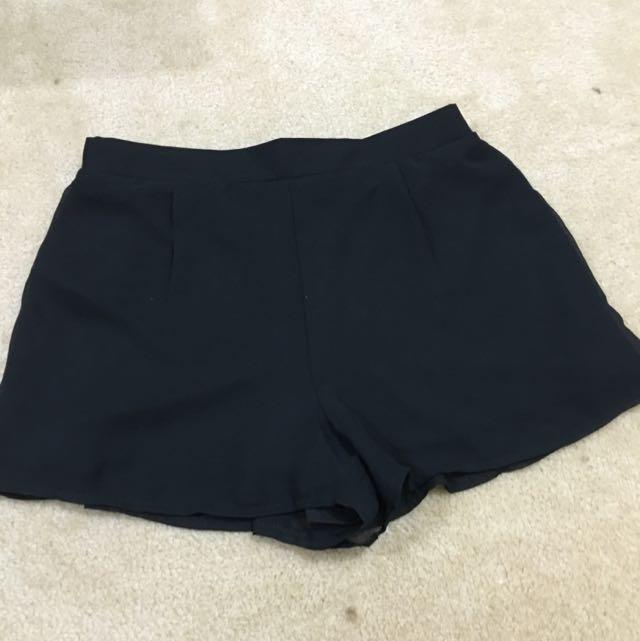 Supre Sheer Fabric Shorts